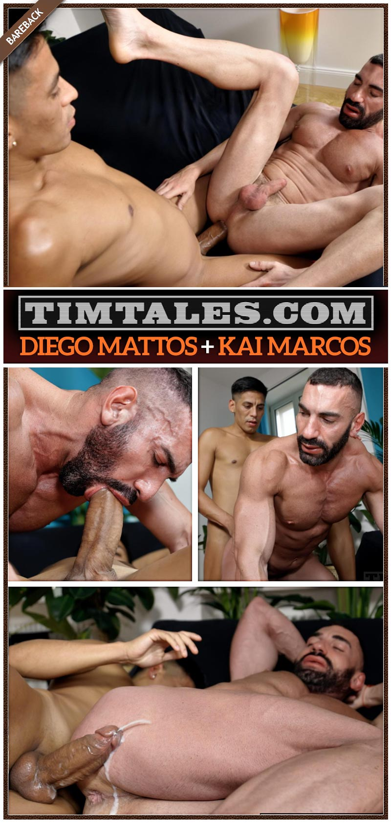 Diego Mattos fucks Kai Marcos Cover