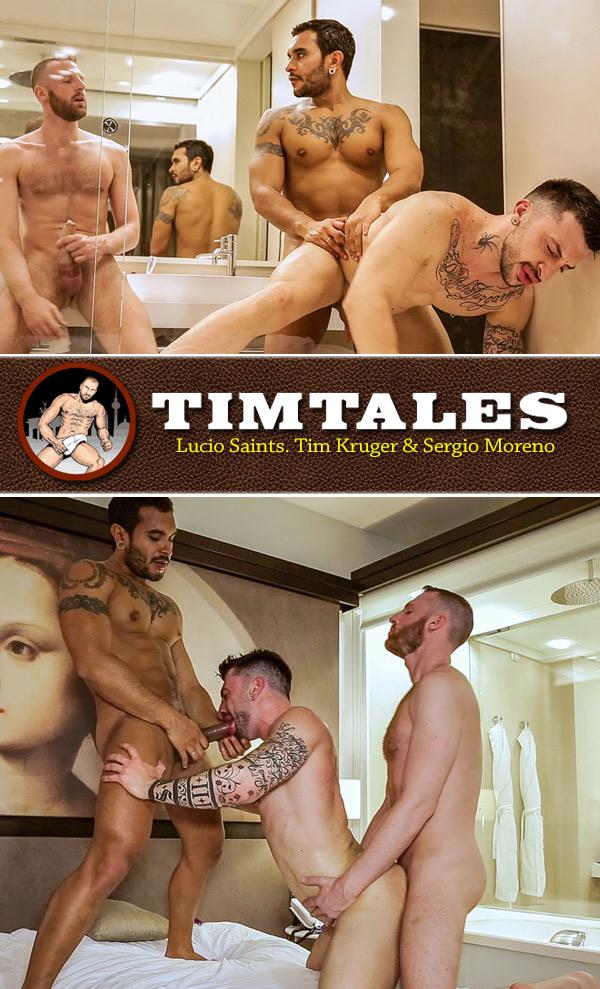 Lucio Saints & Tim Kruger Fuck Sergio Moreno at TimTales