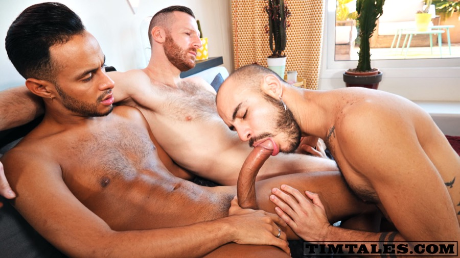 Tim's Holiday Threesome (Tim Kruger & Emanuel Rucci Tag-Team Patrick Dei) at TimTales
