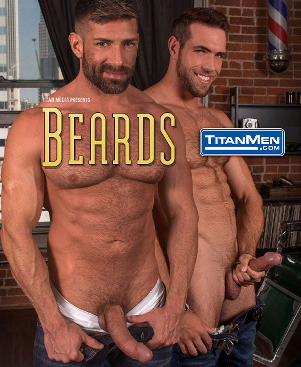 Beards (Alex Mecum & Bruce Beckham Flip-Fuck) (Scene 4) at TitanMen