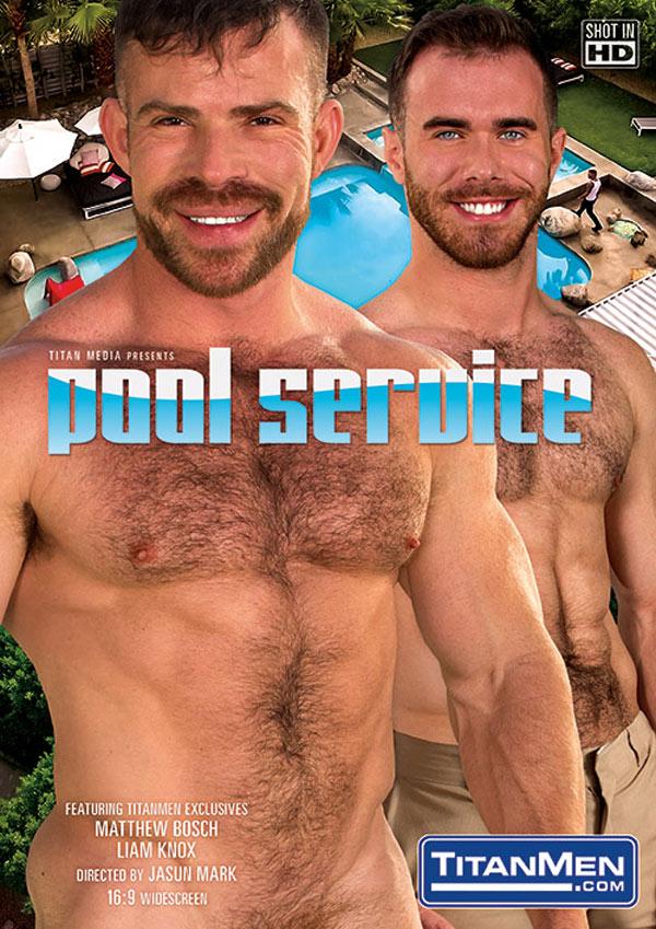 Pool Service (Adam Ramzi and Bennett Anthony Flip-Fuck) (Scene 4) at TitanMen