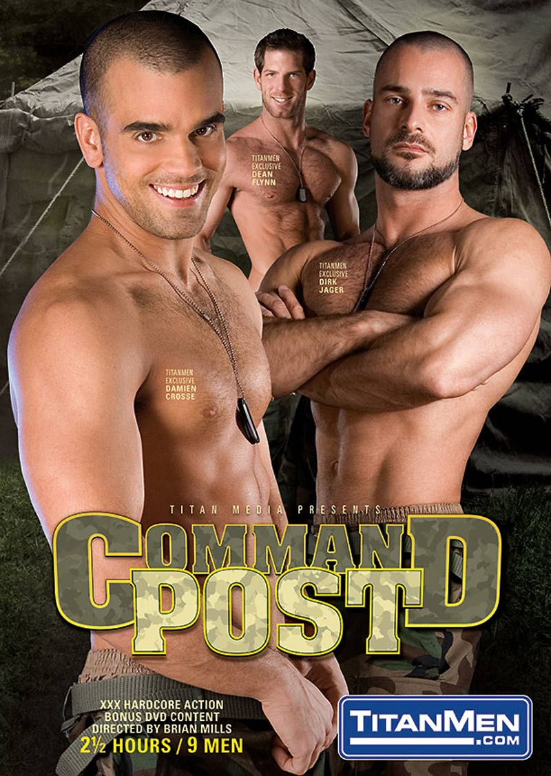 Command Post, Scene 1 (feat. Alexy Tyler, Marko Hansom and Tober Brandt) at TitanMen