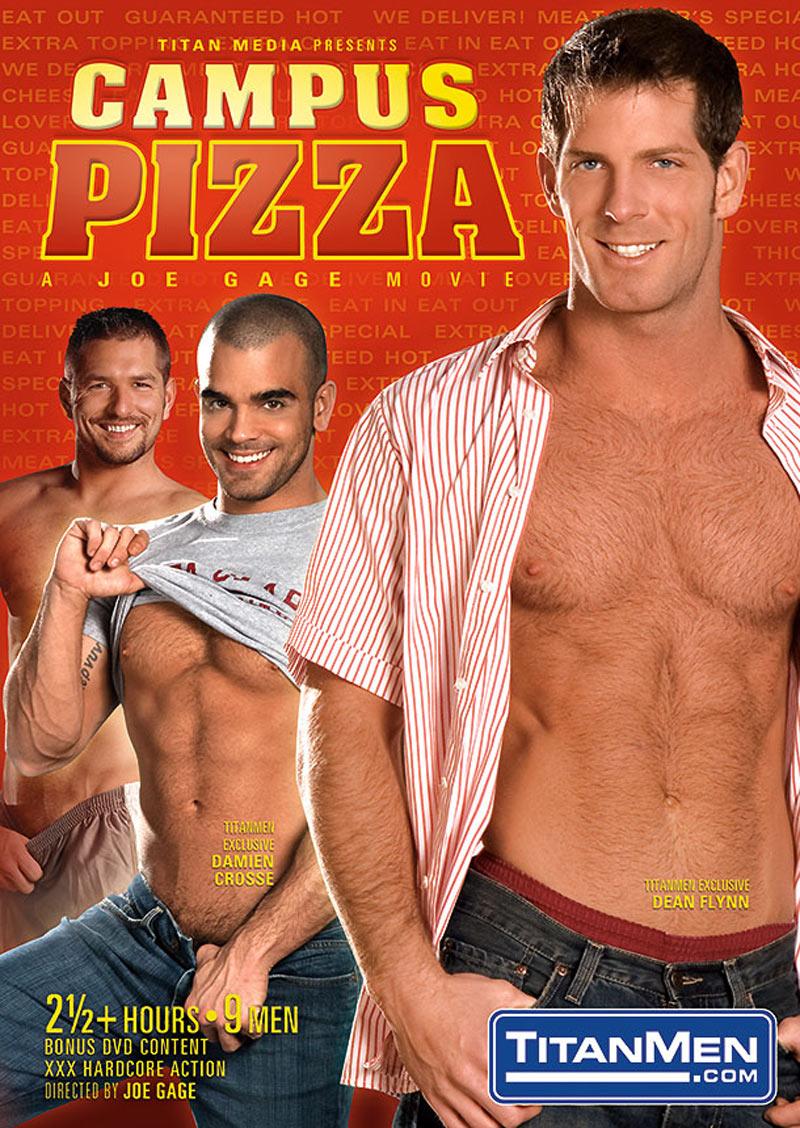 Campus Pizza, Scene 1 (Jesse Jackman Fucks Luke Adams) at TitanMen