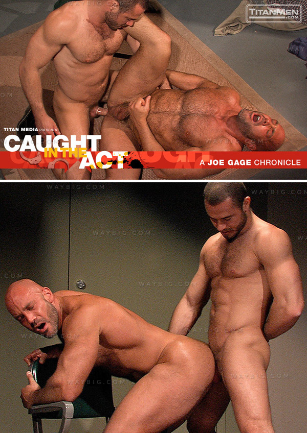 Caught In The Act (Jesse Jackman & Jessy Ares) (Scene 3) at TitanMen