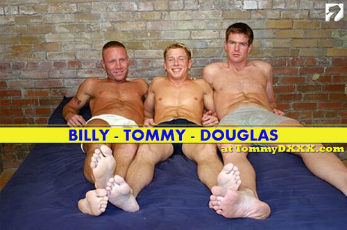 Billy, Tommy, and Douglas at TommyDXXX