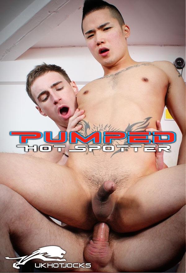 Pumped: Hot Spotter (Kaden Grey & Yoshi Kawasaki) (Scene 1) at U.K. Hot Jocks