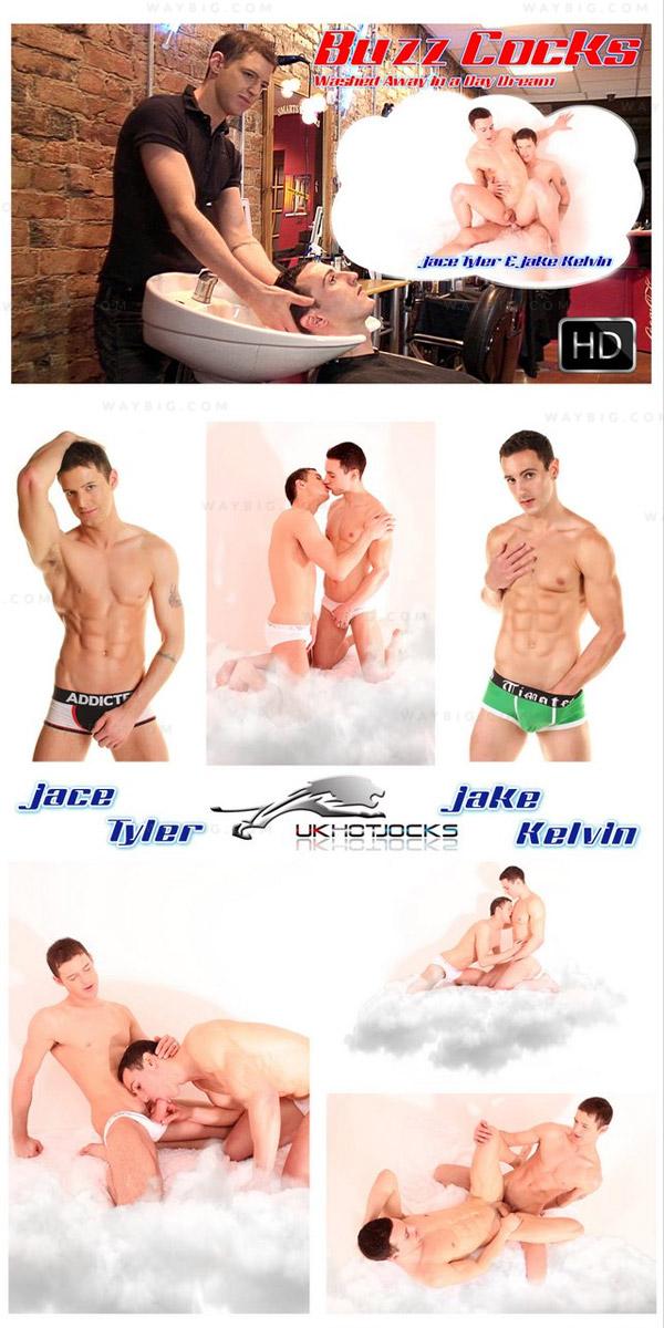 BuzzCocks: Washed Away In A Daydream (Jake Kelvin & Jace Tyler) at U.K. Hot Jocks