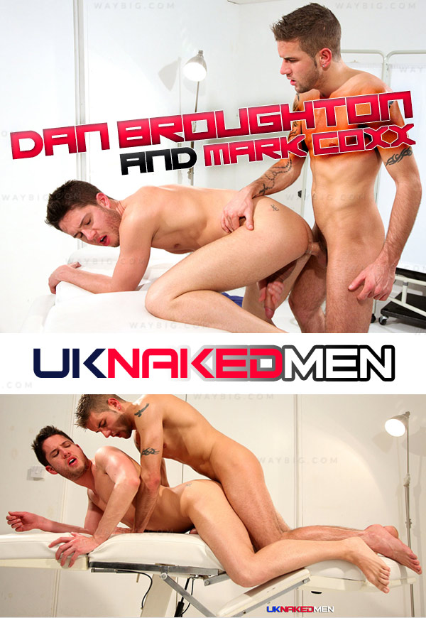 Post-Fight Rubdown (Dan Broughton and Mark Coxx) at UKNakedMen