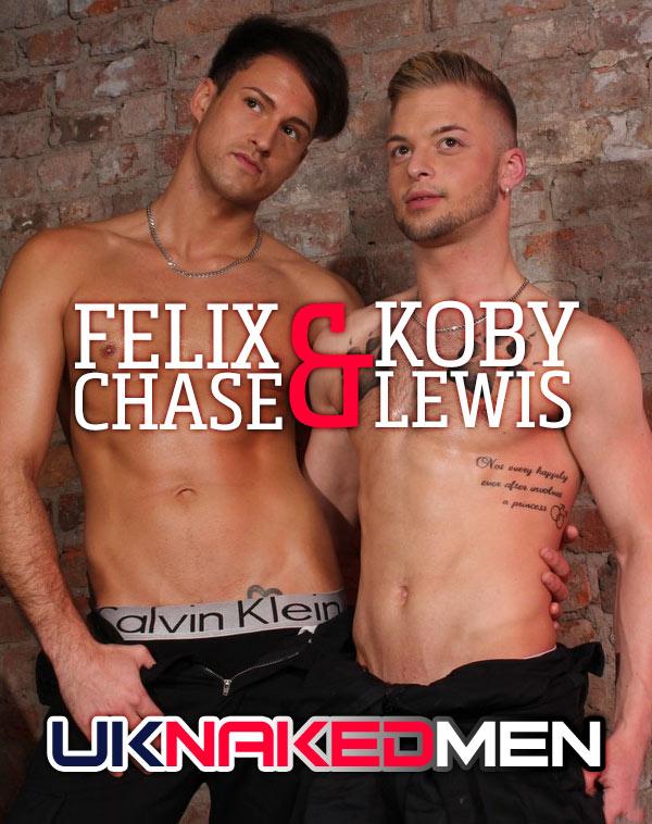 Felix Chase & Koby Lewis (Flip-Fuck) at UKNakedMen