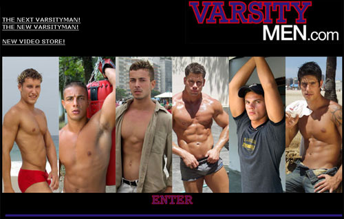 Varsity Men: Slash Page