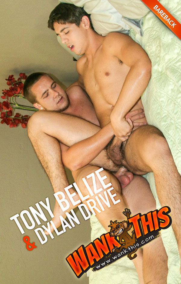 Tony Bealize & Dylan Drive (Bareback) at WankThis