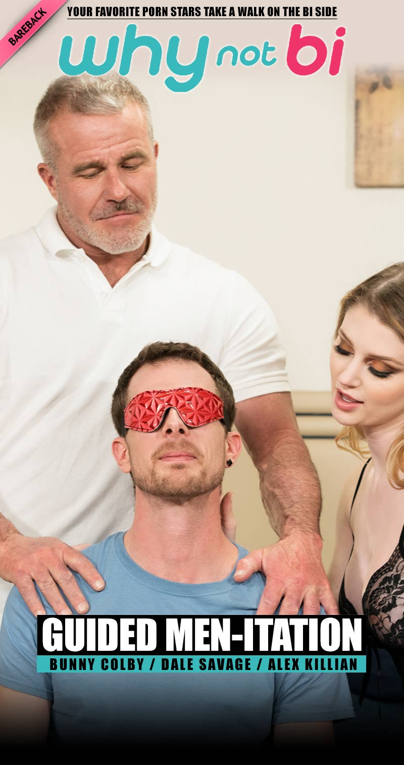 Guided Men-itation (Dale Savage, Alex Killian and Bunny Colby) at WhyNotBi