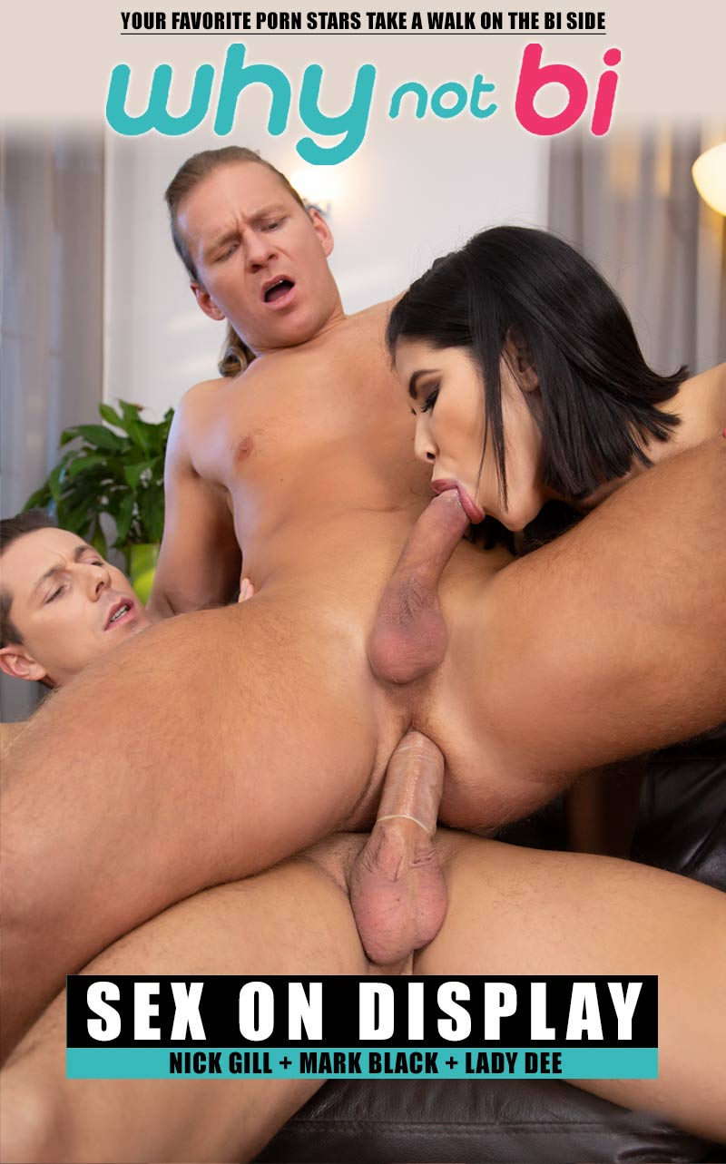 Sex On Display (Nick Gill, Mark Black and Lady Dee) at WhyNotBi