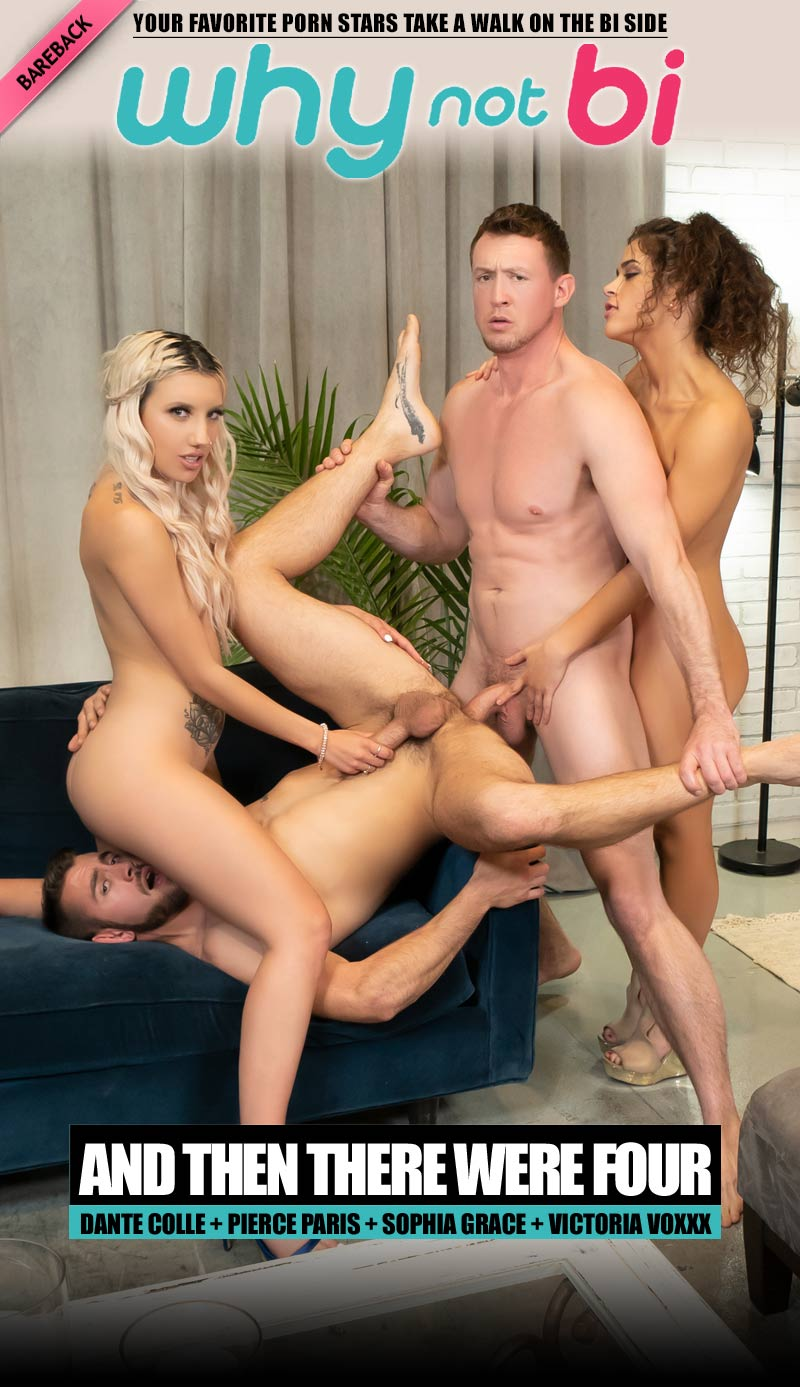 And Then There Were Four (Dante Colle, Pierce Paris, Sophia Grace and Victoria Voxxx) at WhyNotBi