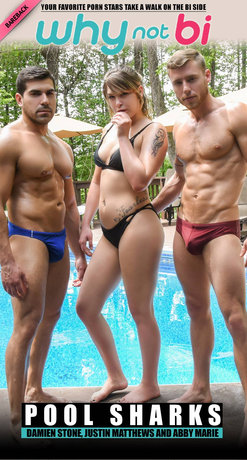 Pool Sharks (Damien Stone, Justin Matthews and Abby Marie) at WhyNotBi
