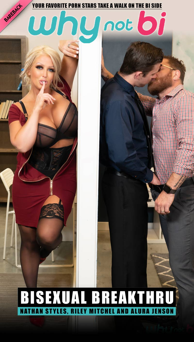 Bisexual Breakthru (Nathan Styles, Riley Mitchel and Alura Jenson) at WhyNotBi