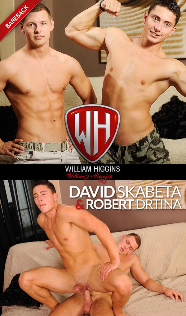 David Skabeta & Robert Drtina (Bareback) at WilliamHiggins.com