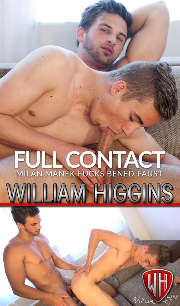 Milan Manek Fucks Bened Faust (Full Contact) at WilliamHiggins.com