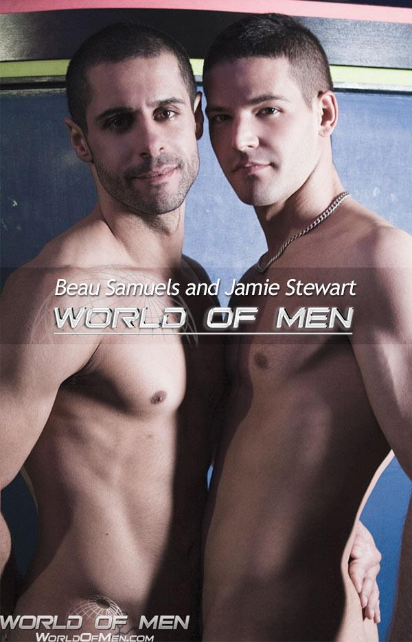 Beau Samuels and Jamie Stewart at WorldOfMen.com