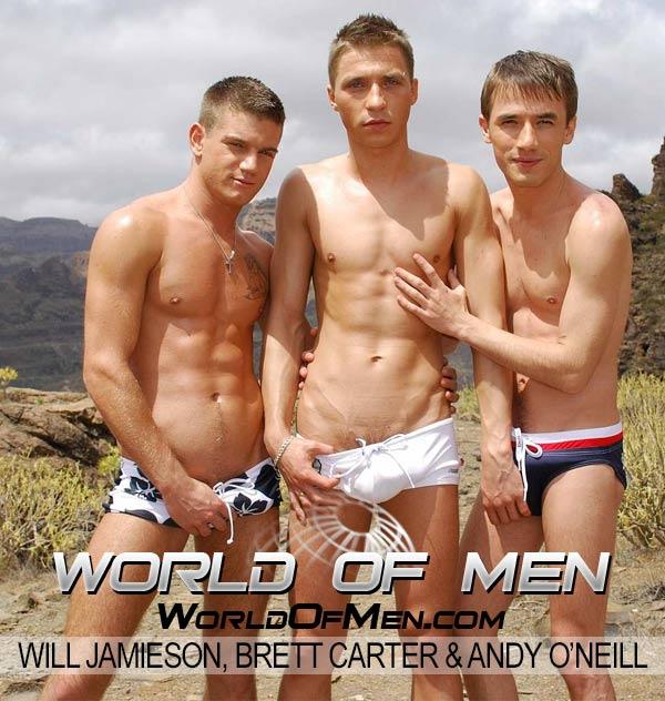 Will Jamieson, Brett Carter & Andy O'Neill at WorldOfMen.com