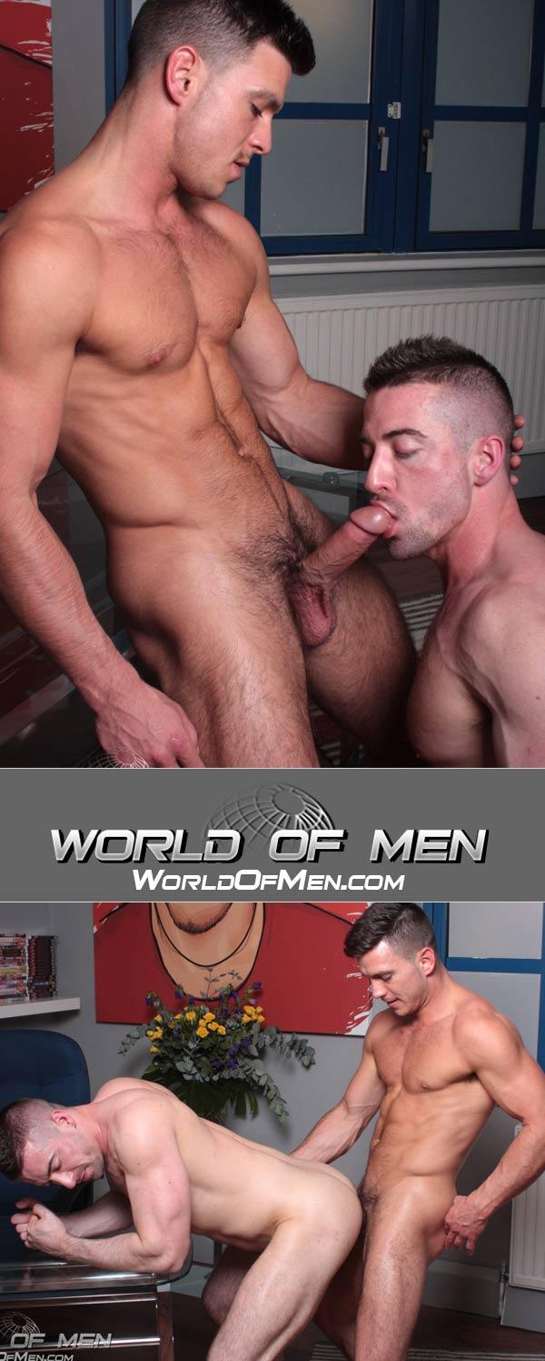 Paddy O'Brian & Scott Hunter at World of Men