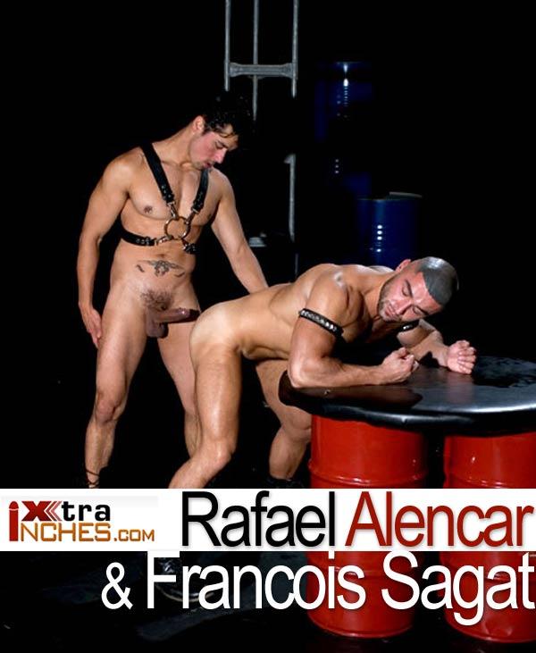Rafael Alencar & Francois Sagat at XtraInches